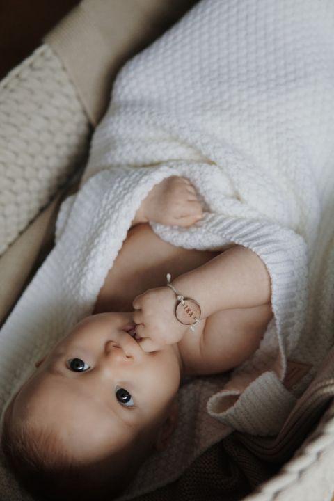 Merinoull Babyteppe - MEMI -Premium collection - Offwhite