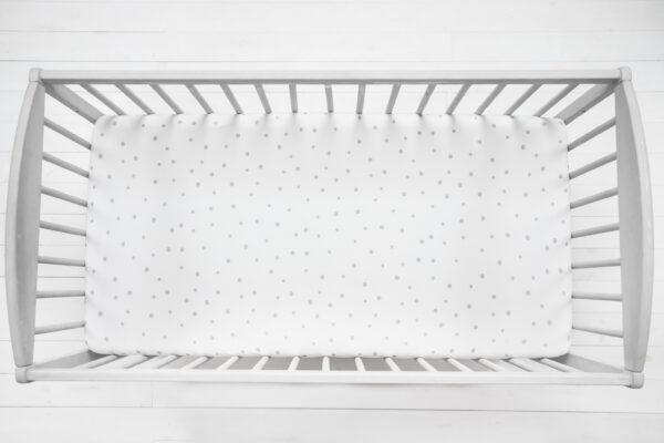 Laken - 120x60 - Sleepee - Grey Dots