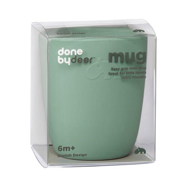 Silikon Mini Mug - Kopp - Done by Deer - Grønn