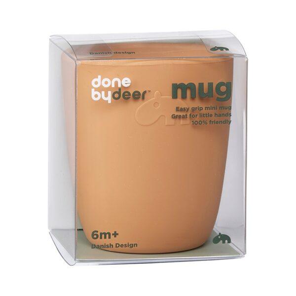 Silikon Mini Mug - Kopp - Done by Deer - Mustard