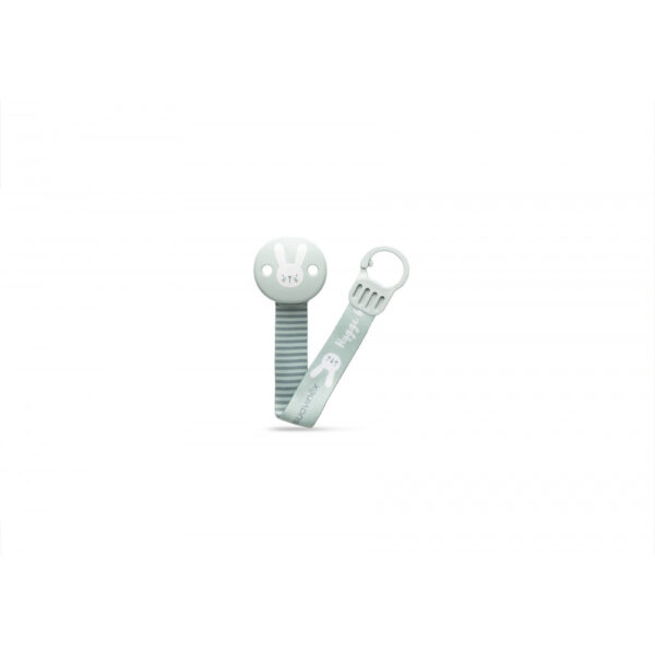 306631 soother clip with ribbon green 2