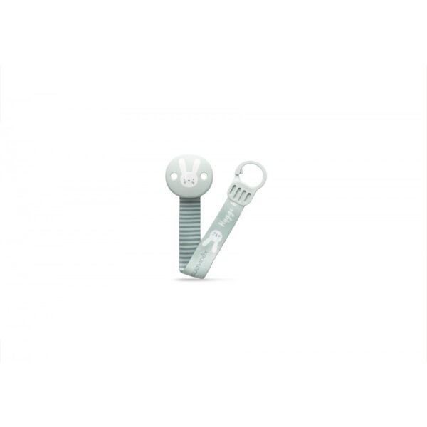 306631 soother clip with ribbon green 2  2