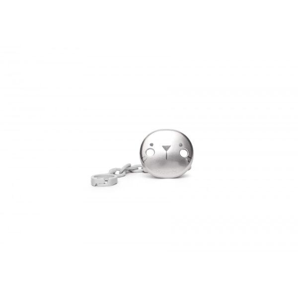 Smokkholder Premium - Hygge - Suavinex - Metallic Grå