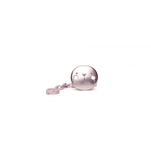 Smokkholder Premium - Hygge - Suavinex - Metallic Rosa