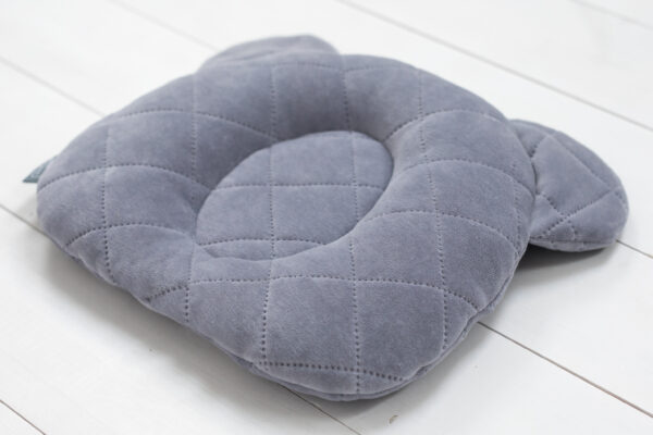 9202 grey poduszka z wglebieniem na glowke maly rozmiar zdjecia 2 scaled