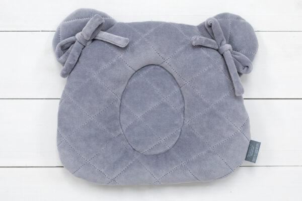 9204 grey poduszka z wglebieniem na glowke maly rozmiar zdjecia 4 scaled