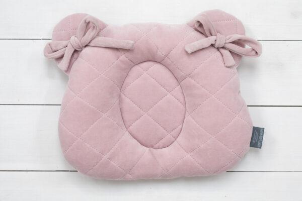 9220 pink poduszka z wglebieniem na glowke maly rozmiar zdjecia 1 scaled