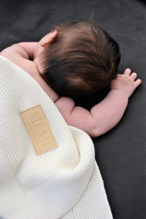 Babyteppe - Bambus&Bomull - Memi - Ecru