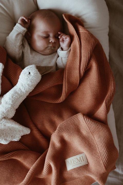 Babyteppe - Bambus&Bomull - MEMI - Caramel