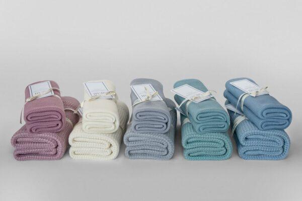 Eucalyptus Blanket 80x100 blue sky – eco collection1