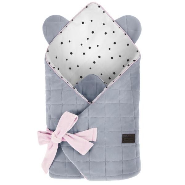 Baby Wrap - Royal Baby - Sleepee - Grey/Pink