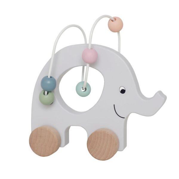 Rulledyr - Elefant med Kuleramme - Jabadabado