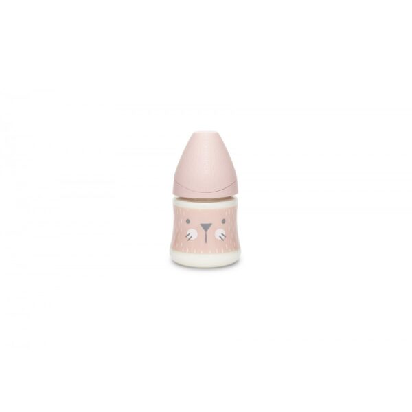 Premium tåteflaske - 150 ml – Hygge – Suavinex - Rosa