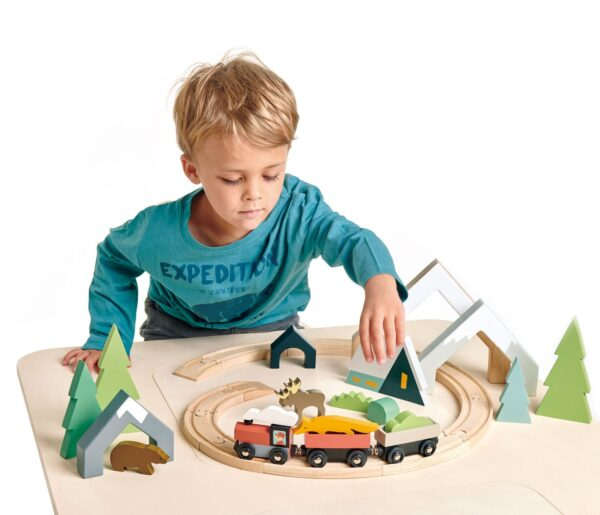 TL8701 treetops train set 3