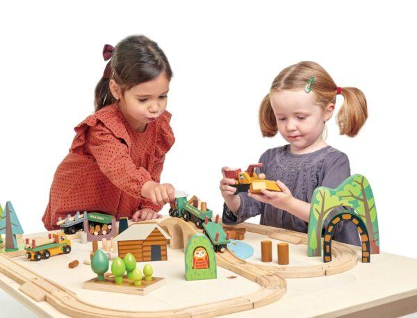 TL8702 wild pines train set 4 1