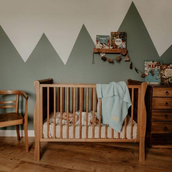 Babyteppe - Bambus&Bomull - MEMI - Vintage Mint