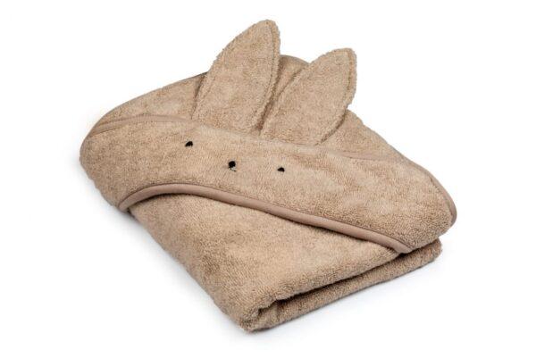 Bamboo håndkle - med kaninhete - MEMI - Sand