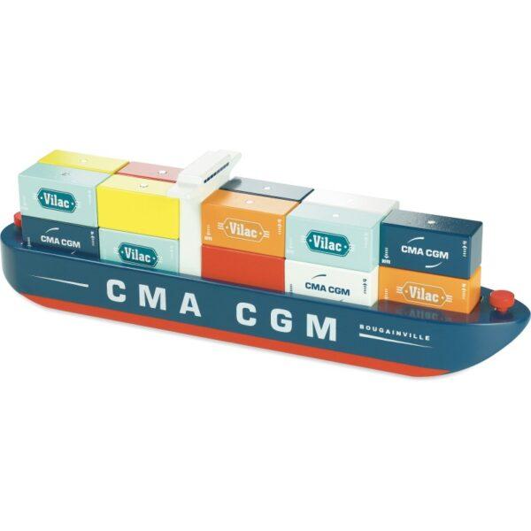 Magnetisk kontainerskip - Vilacity - Vilac