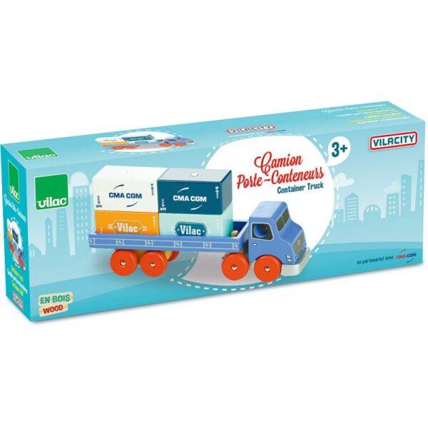 camion porte conteneurs vilacity 1