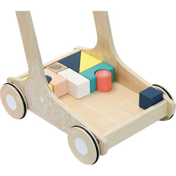 chariot de cubes sous la canop e 5