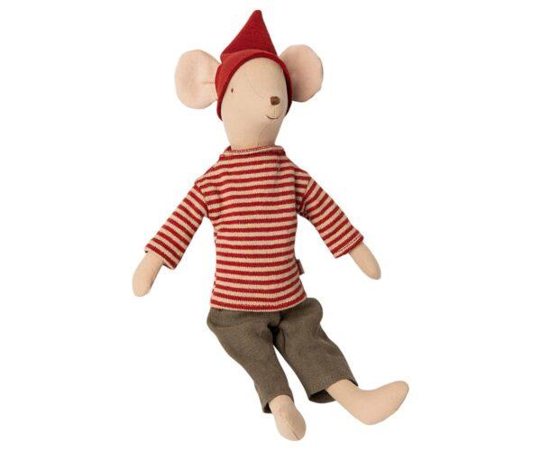 Maileg - Christmas Mouse - Medium - Boy