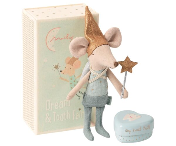 Maileg - Tooth fairy mouse in matchbox - Big brother