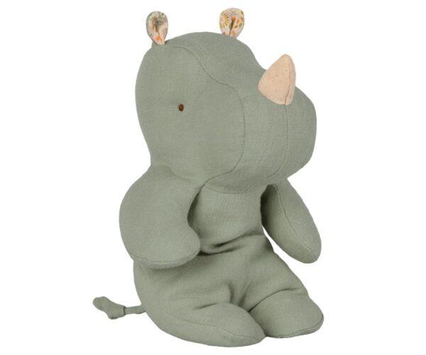 Maileg - Safari friends - Small Rhino - Dusty green