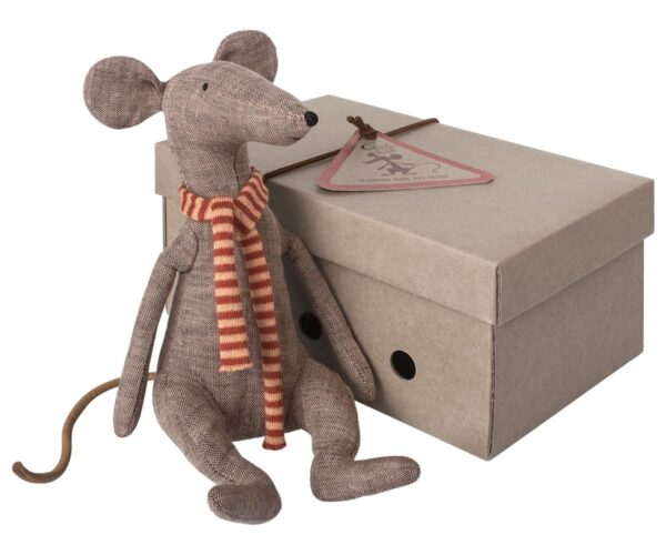 Maileg - Cool Rat - Grey