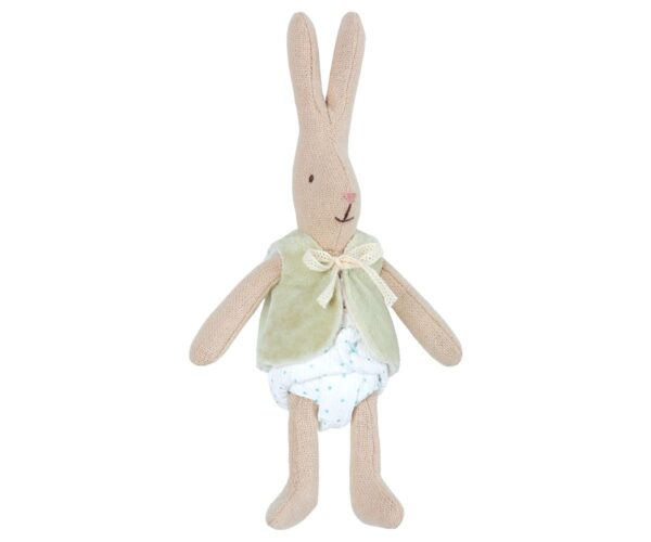 Maileg - Micro Rabbit - With west