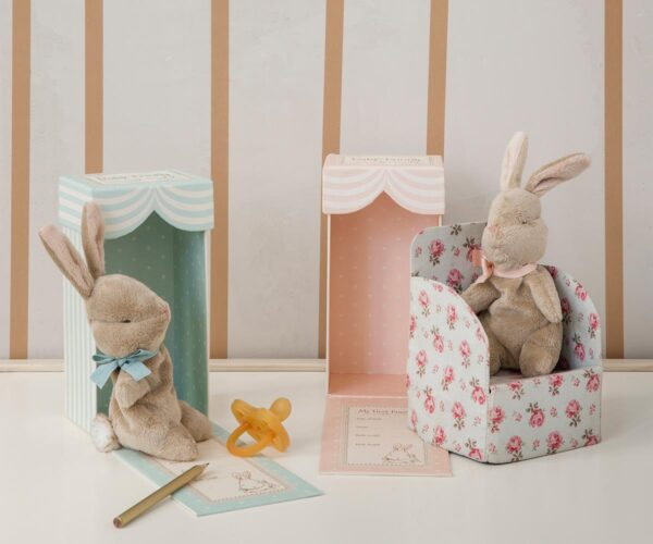 Maileg - My First Bunny in Box - Rose
