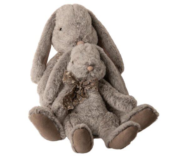 Maileg - Fluffy bunny - XLarge - Grey