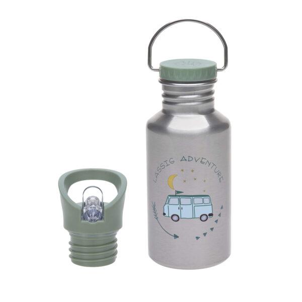 Drikkeflaske - Rustfritt stål- Adventure Bus - 500ml - Lässig