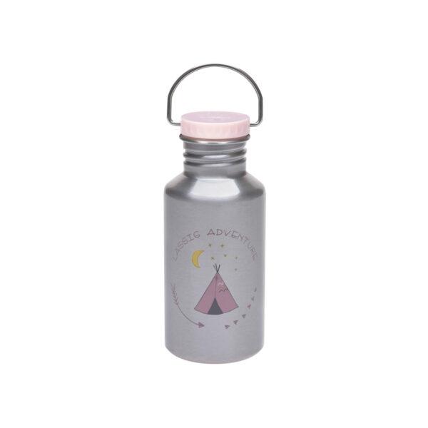 Drikkeflaske - Rustfritt stål- Adventure Tipi - 500ml - Lässig