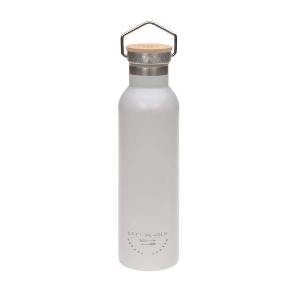 Drikkeflaske - Termos- Rustfritt stål- Adventure Grey - 700ml - Lässig