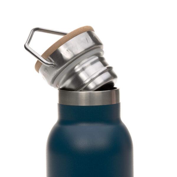 Drikkeflaske - Rustfritt stål- Adventure Blue - 700ml - Lässig