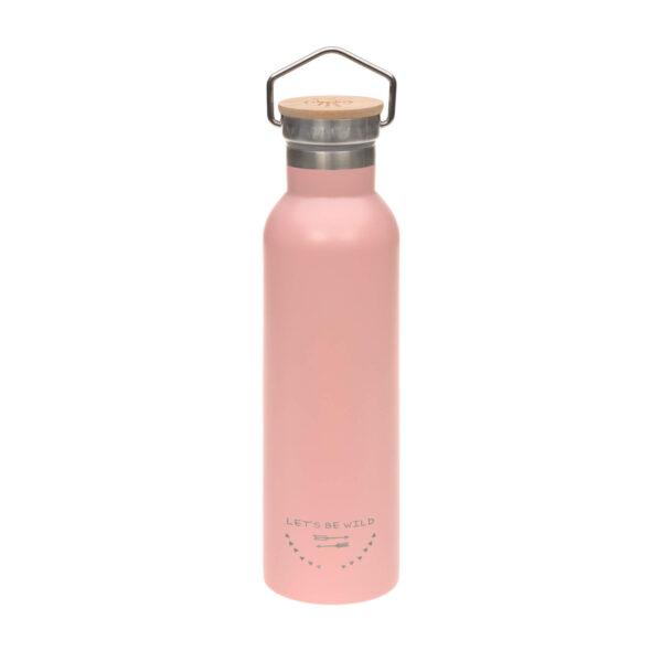 Drikkeflaske - Termos- Rustfritt stål- Adventure Rose - 700ml - Lässig