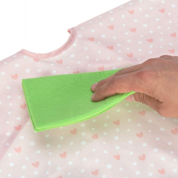 31387 LAESSIG Long Sleeve Bib Lela light pink 2