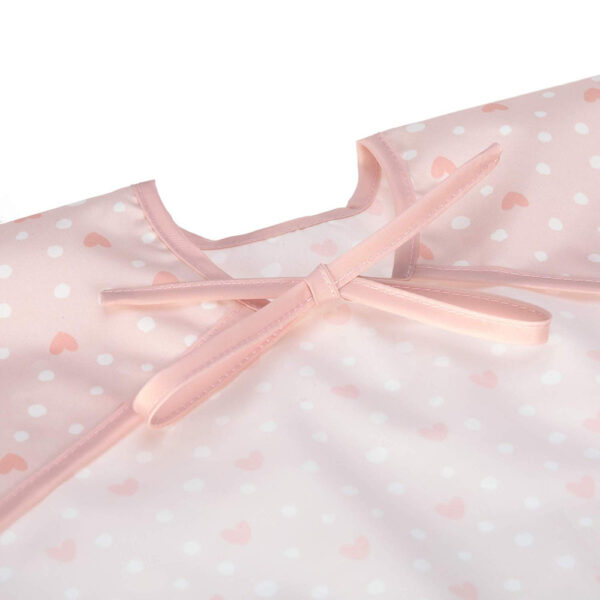 31387 LAESSIG Long Sleeve Bib Lela light pink 4