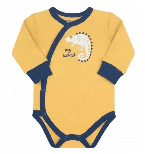 BabyBody – økologisk bomull – Nini – Kameleon