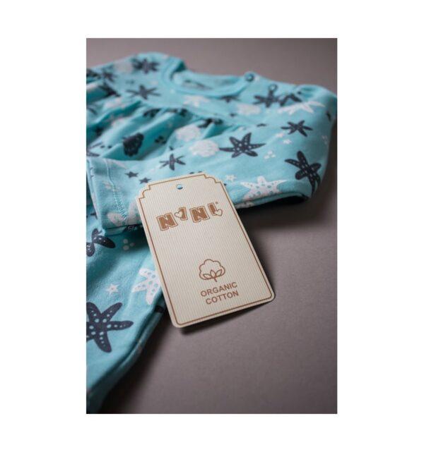 Babytopp – økologisk bomull – Nini - Shells